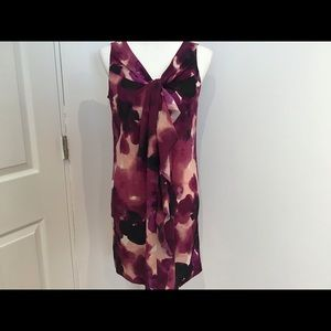 Ann Taylor loft tie dye sleeveless dress 6 petite